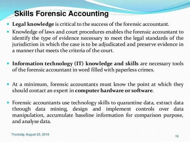 skills for accounting resume