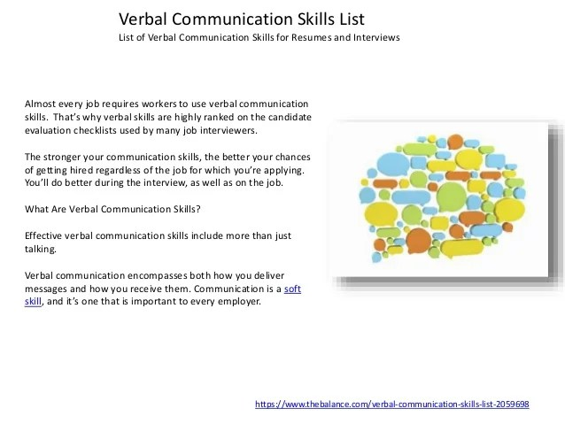 list of transferable skills for resumes