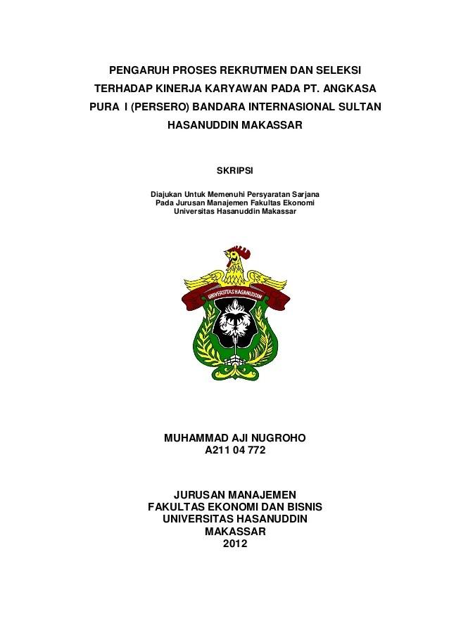 Proposal Skripsi Manajemen Sdm Skripsi Manajemen Sumber Daya Manusia Slideshare Skripsi Lengkap Manajemen Feb Muhammad Aji Nugroho 1