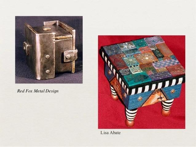 Ceramic Project Slab Built Boxes
