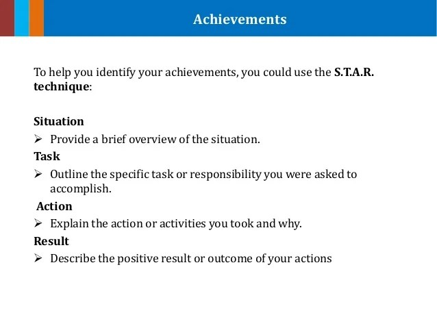 achievements examples for resume - Minimfagency