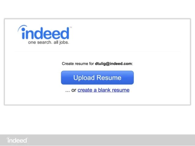 indeed create resume - Intoanysearch