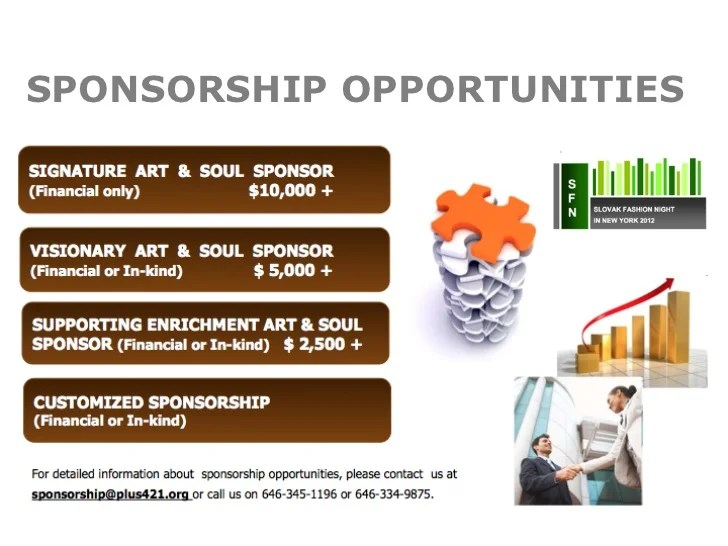 non profit sponsorship proposal template - Onwebioinnovate