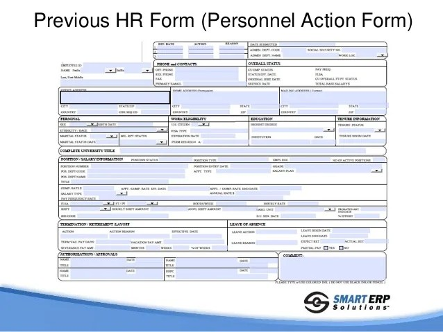 personnel action form template - Nedewhyanything