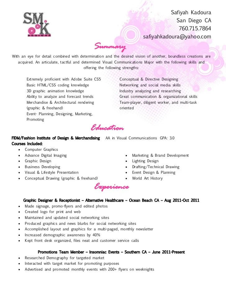 salon receptionist resume - Ozilalmanoof - salon receptionist resume