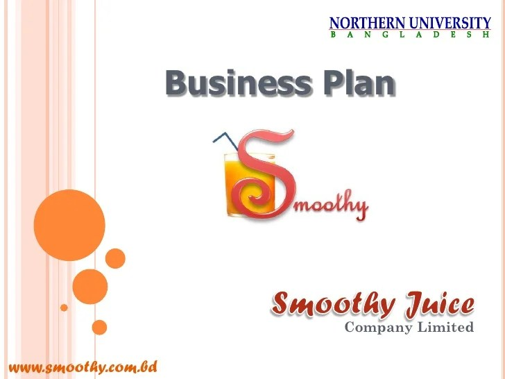 Brewery Business Plan Sample Company Summary Bplans Business Plan Of Smoothy Juice Company