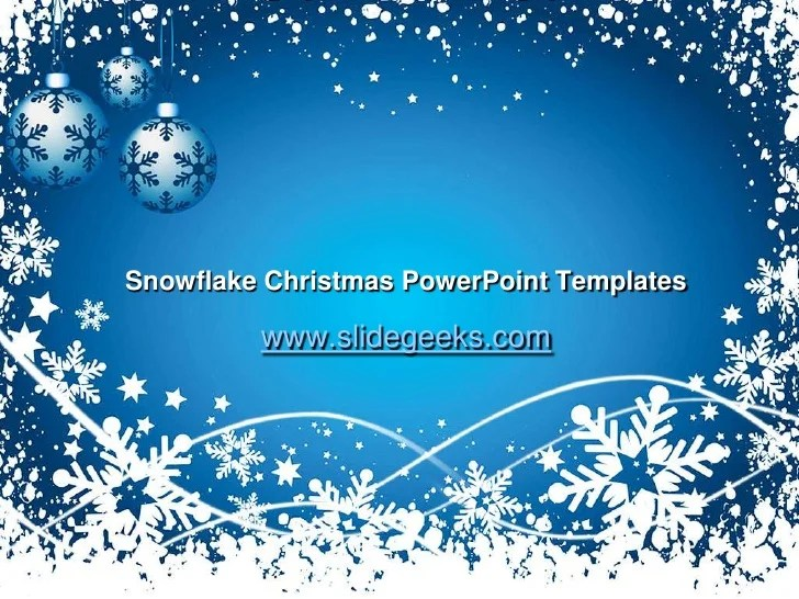 powerpoint christmas templates - Pinarkubkireklamowe