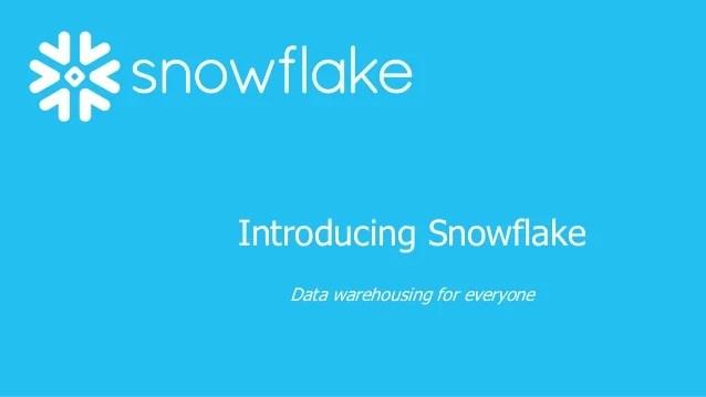 snowflake powerpoint