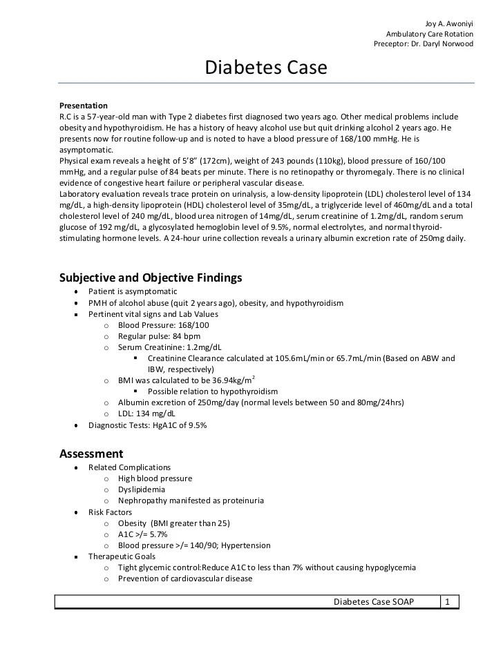 Nursing Care Plan Ncp Nursing Crib Diabetes Soap Note Exercise