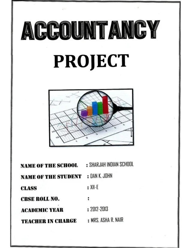 Muskan 3d Name Wallpaper Solved Comprehensive Project Cbse Class 12 Accountancy Project