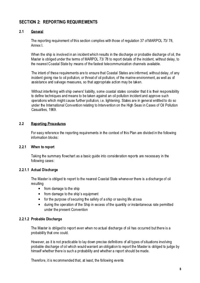 maritime incident report format - Alannoscrapleftbehind - incident report format