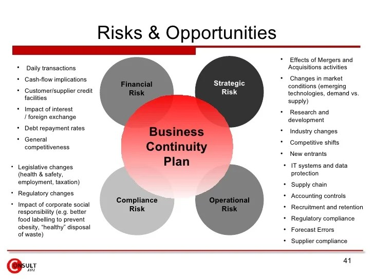 A Business Continuity Plan Template Business Continuity Plan Template Sample Example Sandop Implementation Roadmap