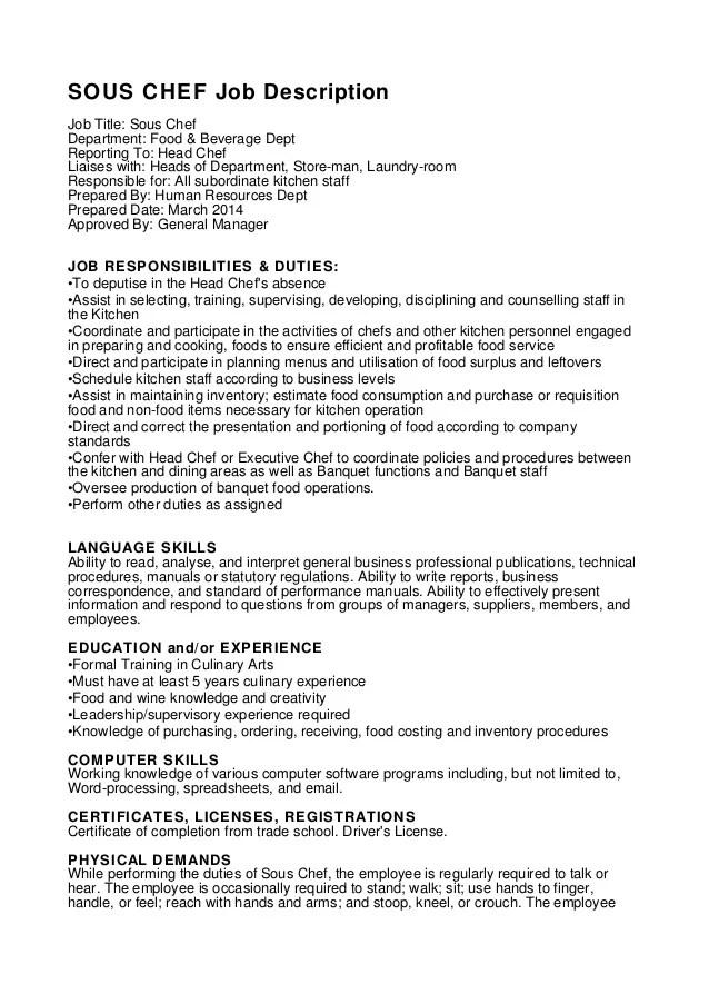 Cover Letter Sample Software Developer Engineer C C Sous Chef Job Description