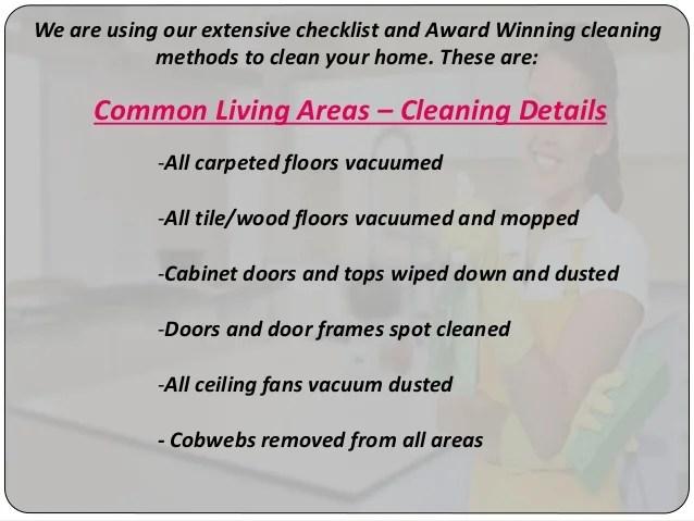 housing cleaning checklist - Akbagreenw