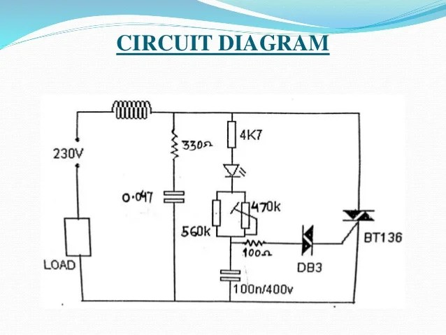 r and rc firing circuit diagram