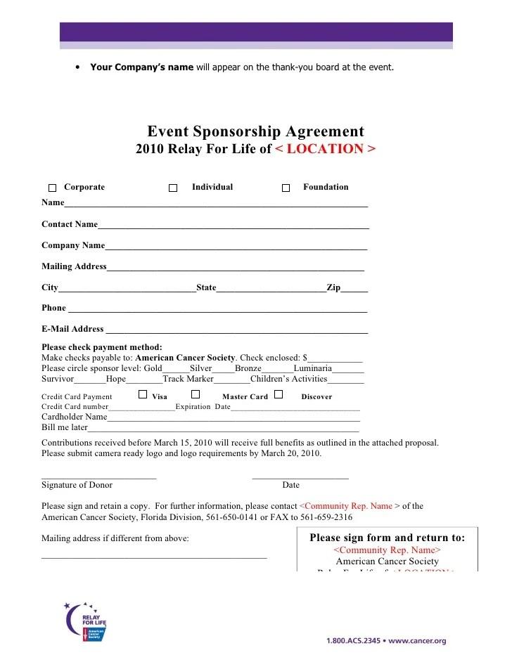 Example Of A Sponsorship Proposal Howtobillybullock - athlete sponsorship proposal template