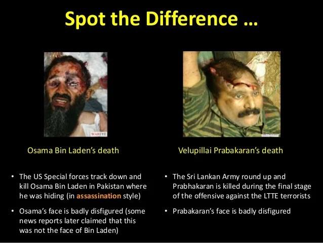 Prabhakaran Hd Wallpapers Spot The Difference Al Qaeda Vs Ltte