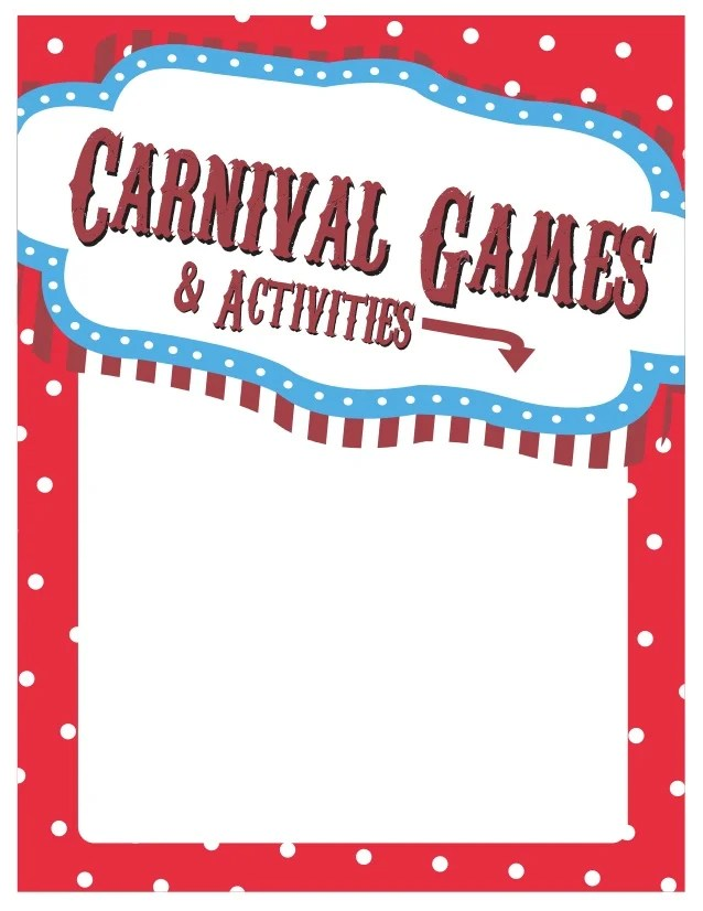 carnival sign template free yelomdigitalsite cvfreeletters