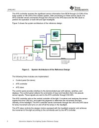 Automotive Adaptive Front-lighting System Reference Design