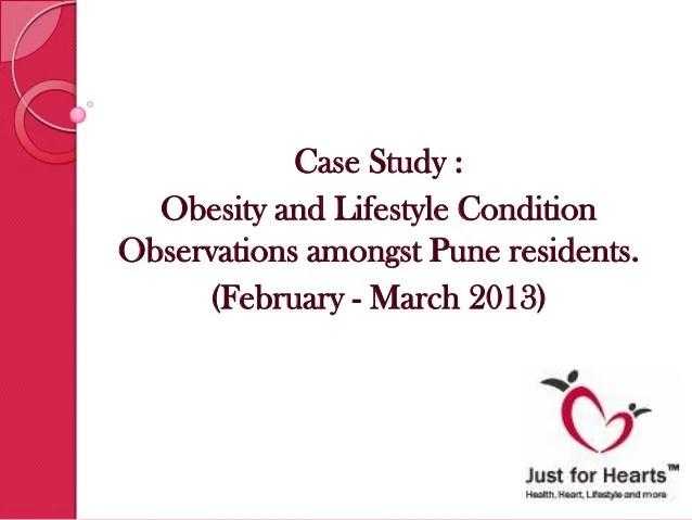 Obesity Lifestyle Condition Case Study