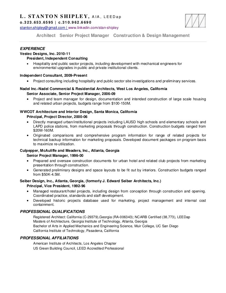 senior construction project manager resumes - Doritmercatodos - senior project manager resume sample