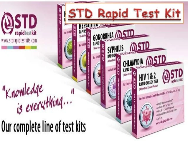 hiv test kit cvs