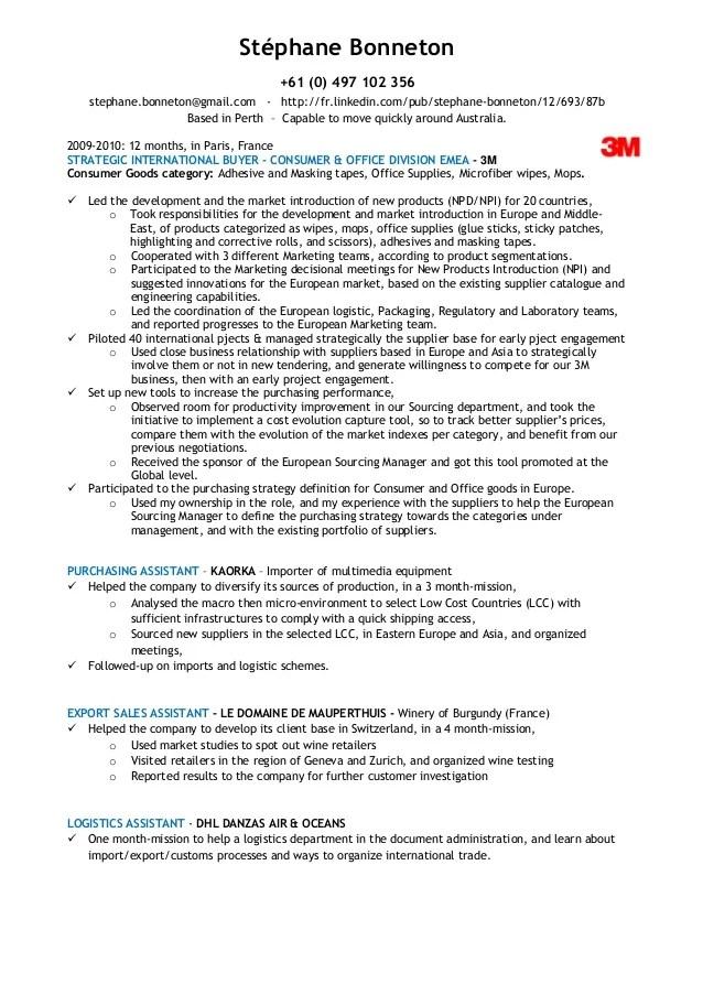 senior buyer resume examples - Bire1andwap
