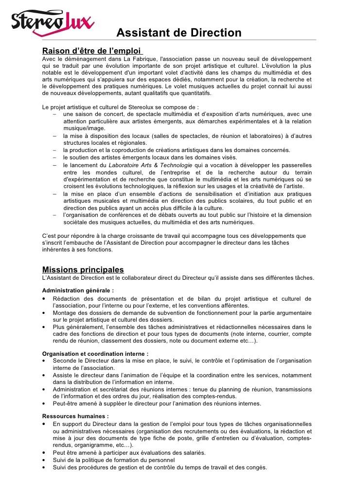 assistant assurance qualite cv