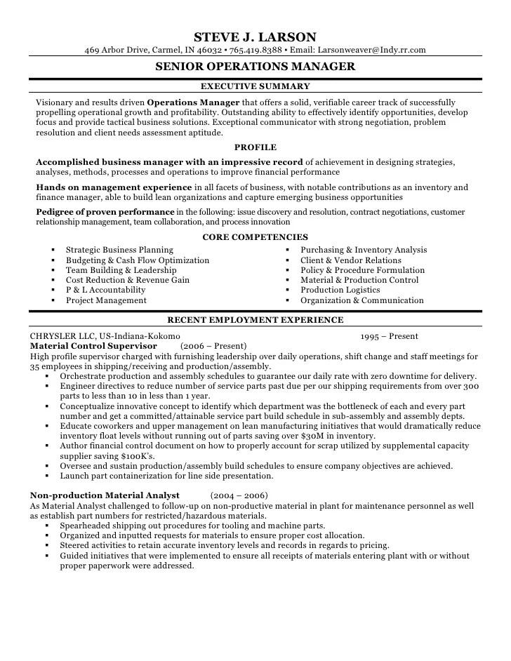 Payroll Administrator Resume Sample Three Hr Resume Steve Larson Resume