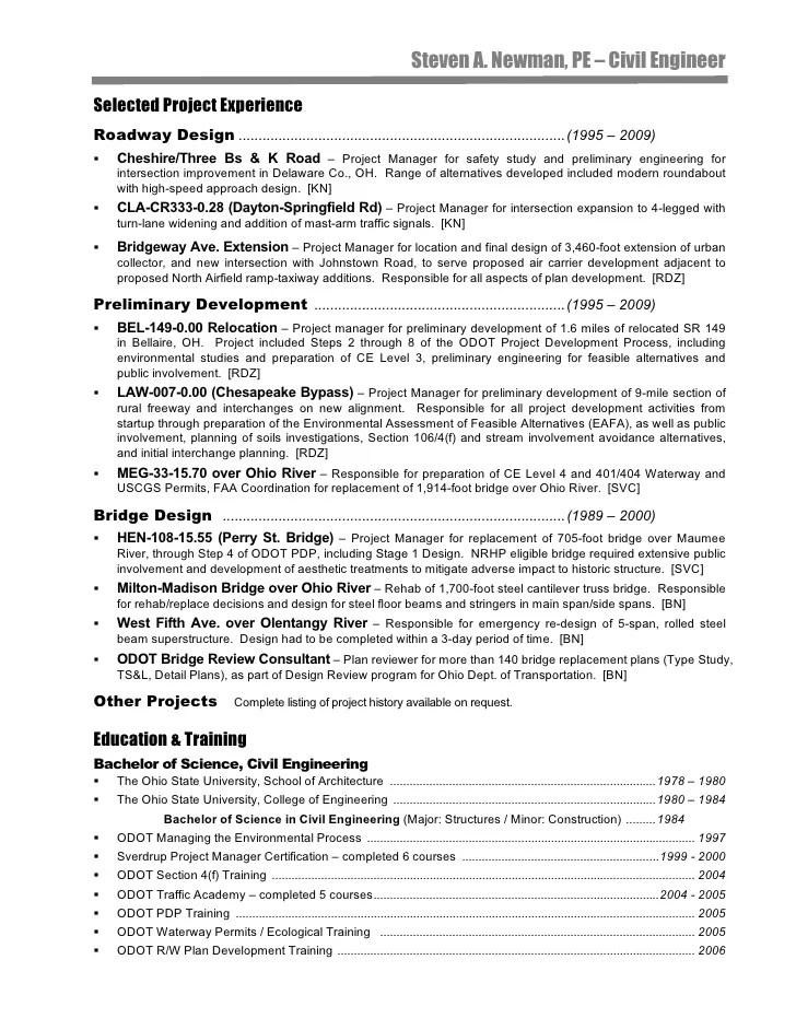 Sample Civil Engineer Resume - sarahepps - - sample civil engineer resume