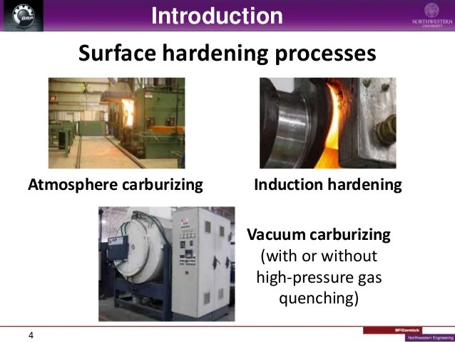 Effect Of Surface Hardening Technique And Case Depth On