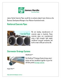 Stormwater drainage pipes