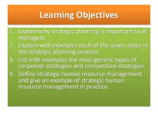 human resources strategic planning examples - Alannoscrapleftbehind - human resource examples