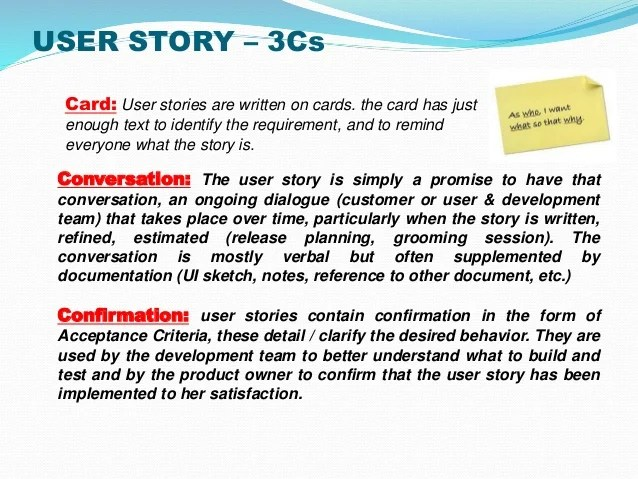 agile user story template example - Onwebioinnovate