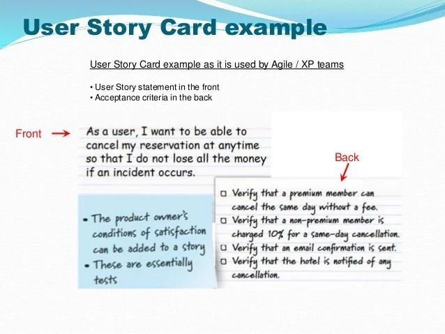 template user story - Alannoscrapleftbehind