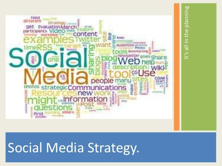 social media strategy template - Intoanysearch - social media plan template