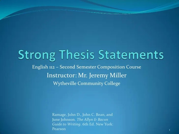 Team communication thesis statement