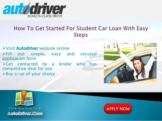 Student Car Loans With No Job Or No Cosigner, Unemployed Student Auto…