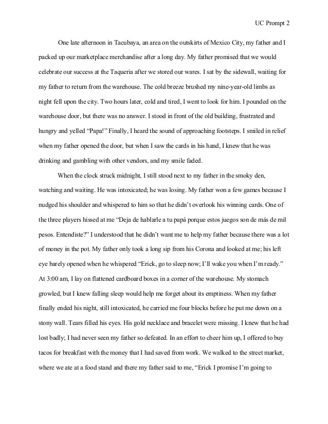 Essay Learning English Good Uc Essay Examples Uc Example Essays Trainer Resume Example I Receive  No Credit For My Sample Business Essay also Proposal Essay Topic Ideas Help Writing A Dissertation Buy Essay Papers Here Professional  Narrative Essay Topics For High School Students