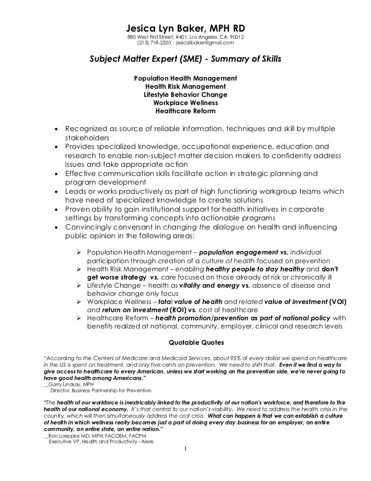 sample resume for graduate - public health nurse sample resume