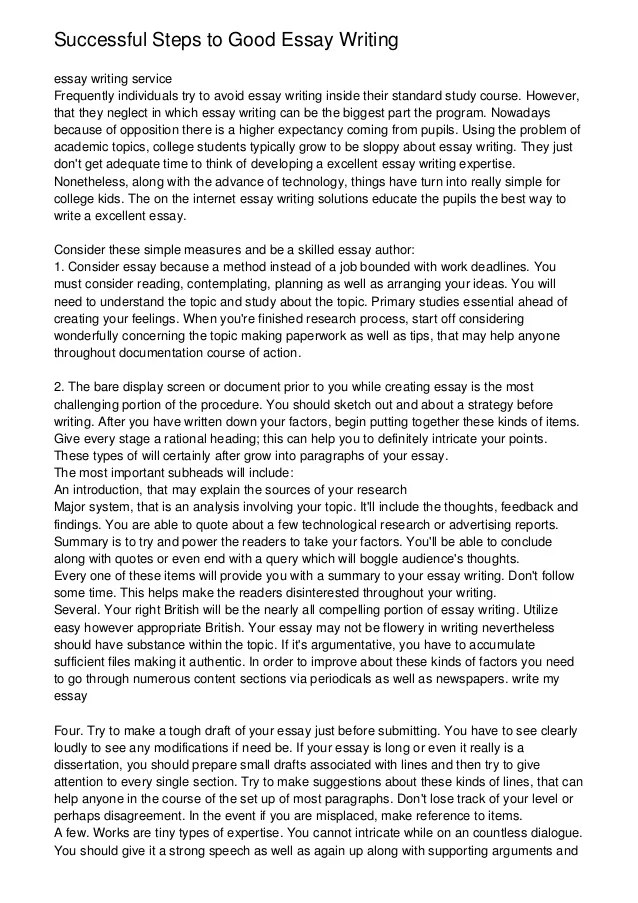 reflective essay on life