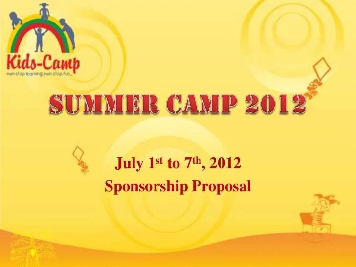 summer camp certificate format - Romeolandinez