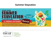 Nicor Gas Summer Staycation Introduction