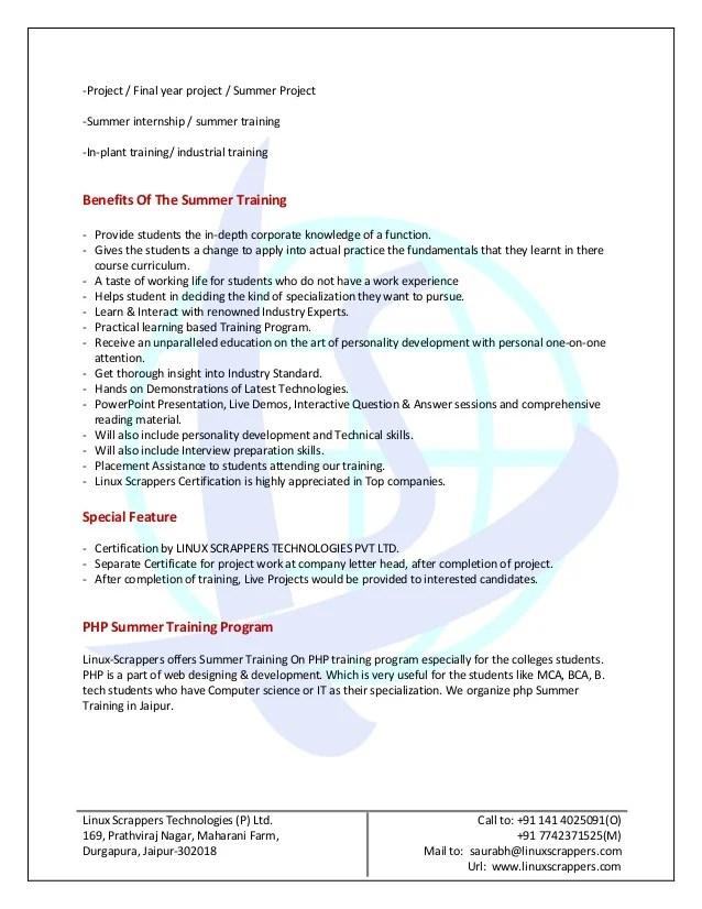 training proposal - Ozilalmanoof - training proposal letter