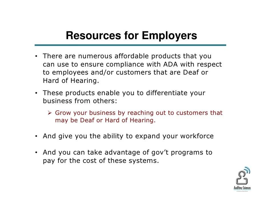 deaf employees in the workplace - Yenimescale