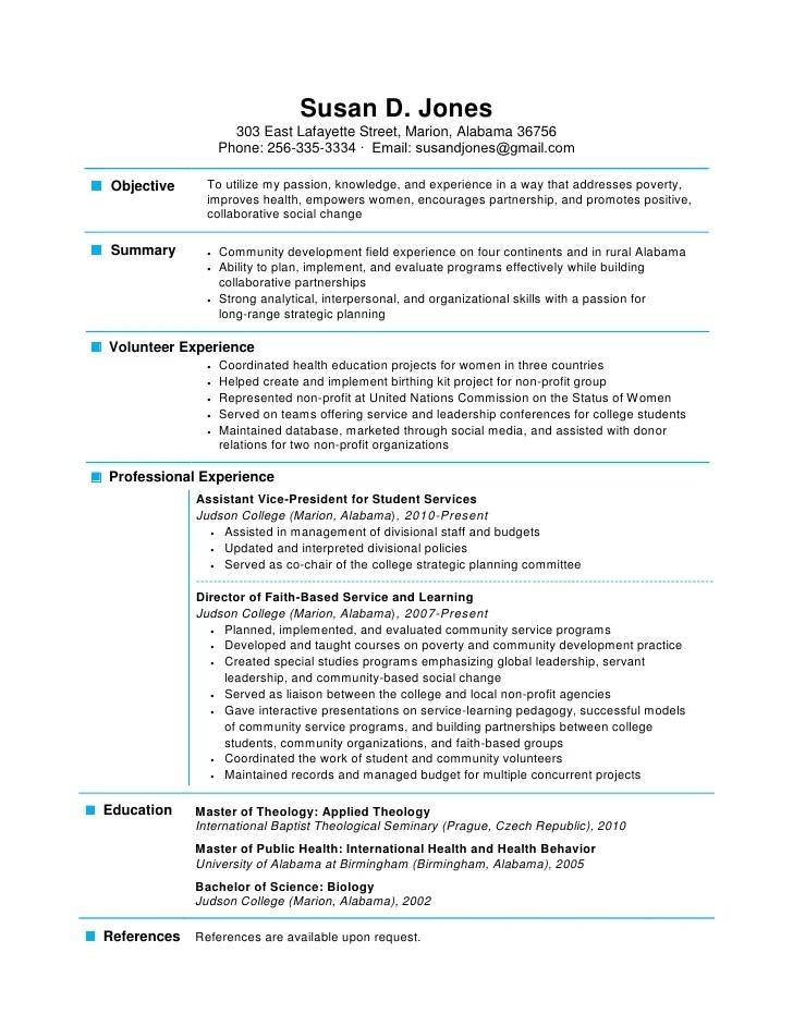 resume page - Romeolandinez