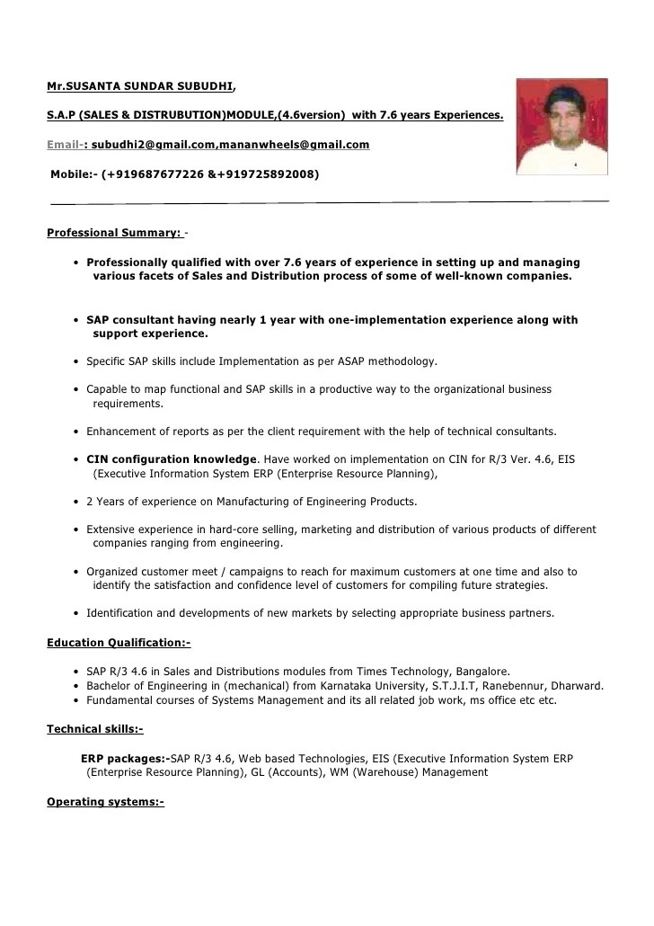 sample resume for experienced software tester pdf