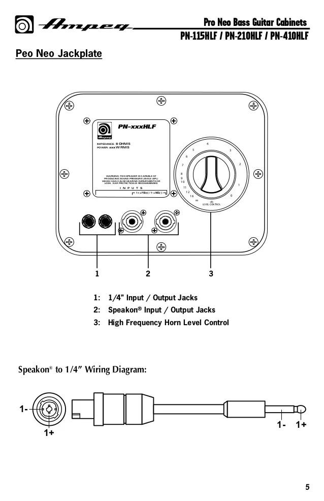 wiring input output jacks