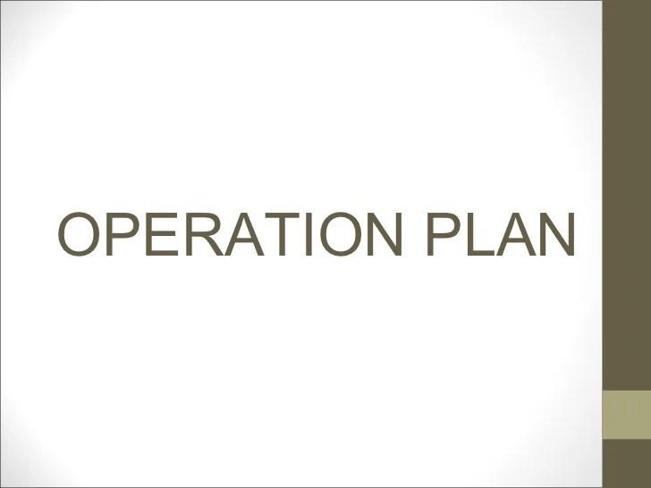 sample operation plan - Onwebioinnovate - operational plan template