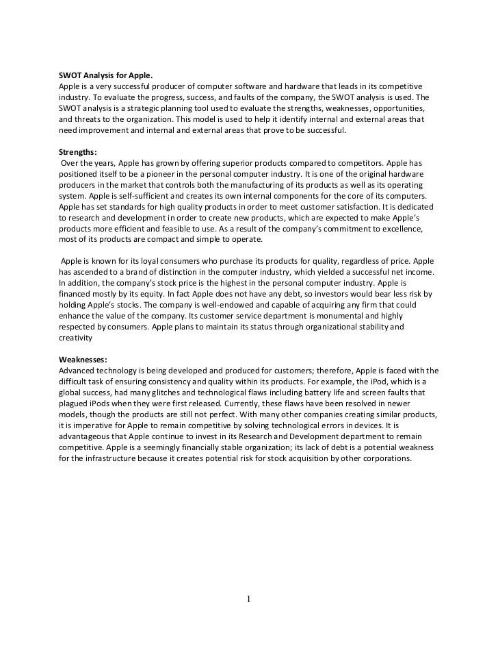 sample swot analysis essay - Alannoscrapleftbehind - format for swot analysis